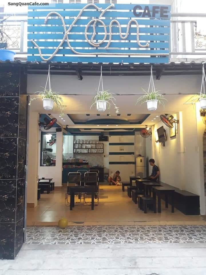 Cần sang nhượng quán cafe góc 2 mặt tiền khu dân cư sầm uất