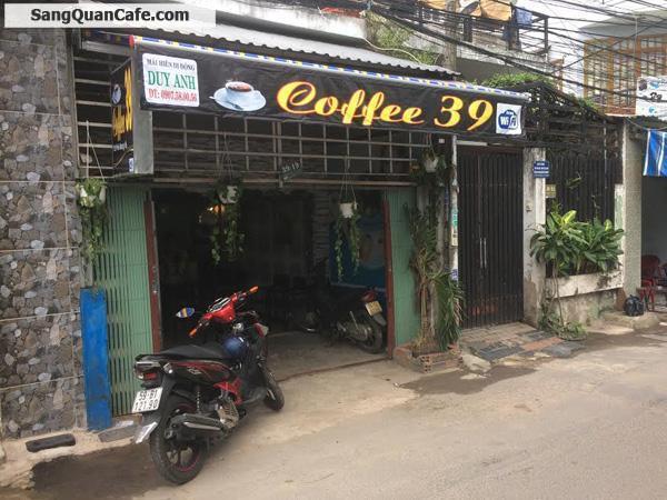 Cần sang nhượng quán cafe kinh doanh ổn định