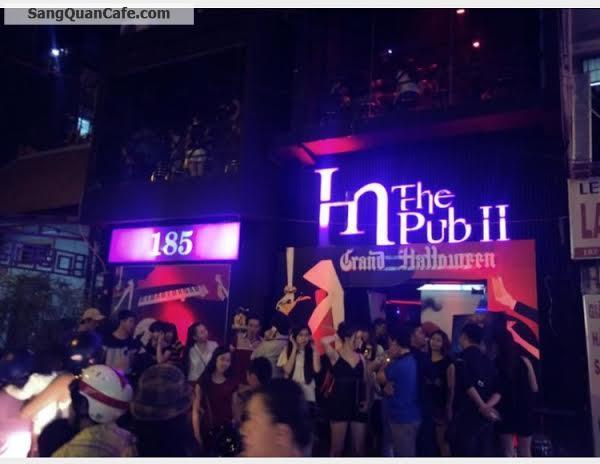 Cần sang quán Bar & Cafe tại trung tâm Sài Gòn