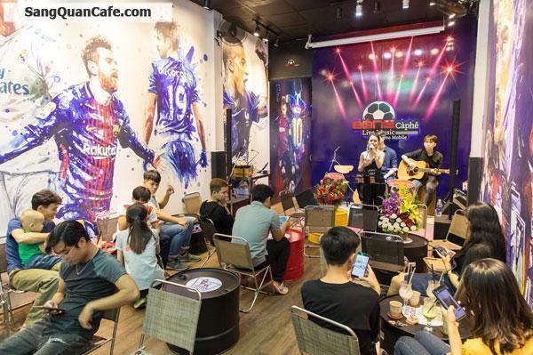 Cần Sang Quán Cafe Bóng Đá