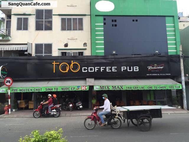 Cần sang quán cà phê đang hoạt động tốt