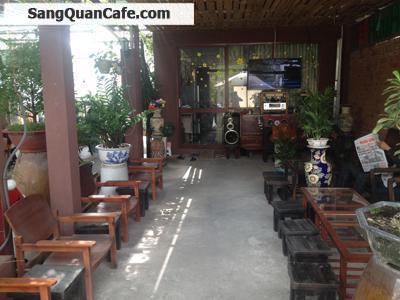 Cần sang quán cà phê sân vườn quận Bình Thạnh