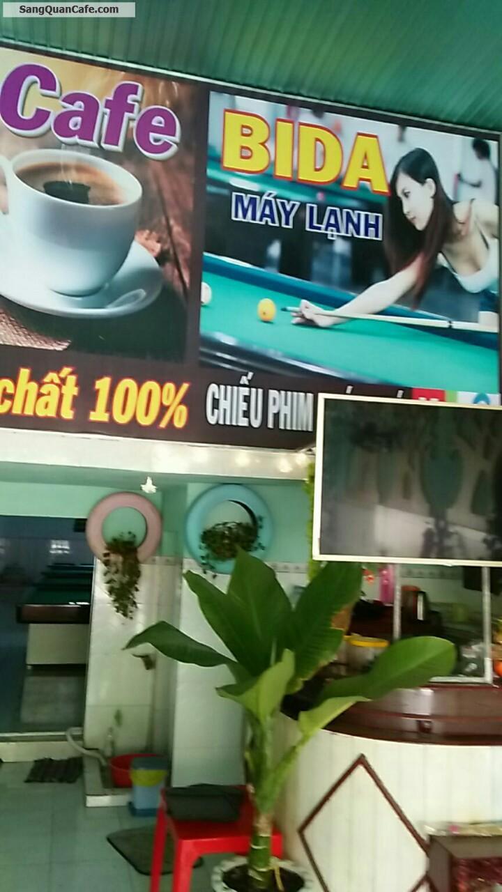 Cần sang quán Cafe + Bida tại  KCN Mỹ Phước 2