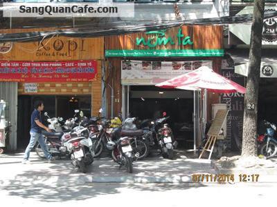 Cần sang quán cafe- cơm văn phòng quận 1
