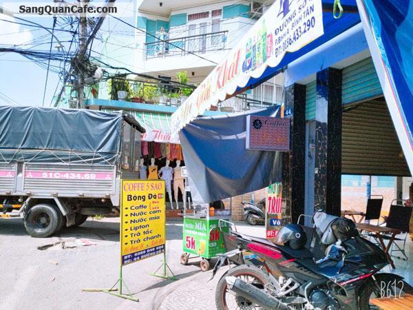 Cần sang quán cafe 2 mặt tiền Bình Tân