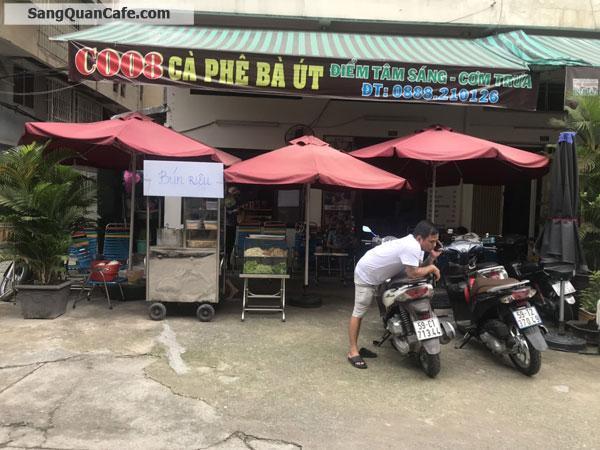Cần sang quán cafe Chung cư 212