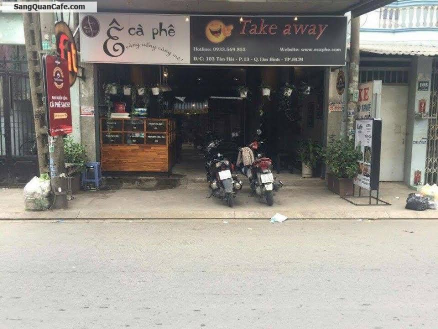 Cần sang quán cafe đang hoạt động cạnh khu Etown