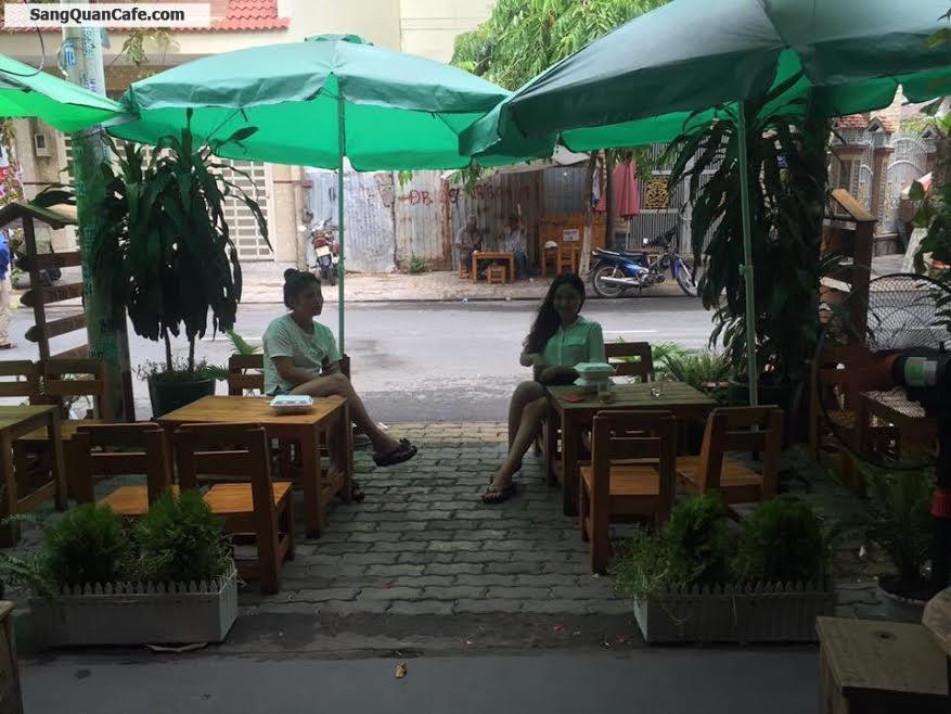 Sang quán cafe đang kinh doanh đuợc 2 năm