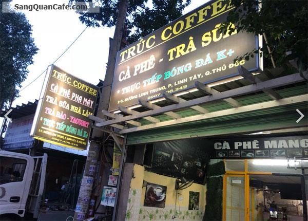 Cần sang quán cafe gần trường cấp 2 Linh Trung