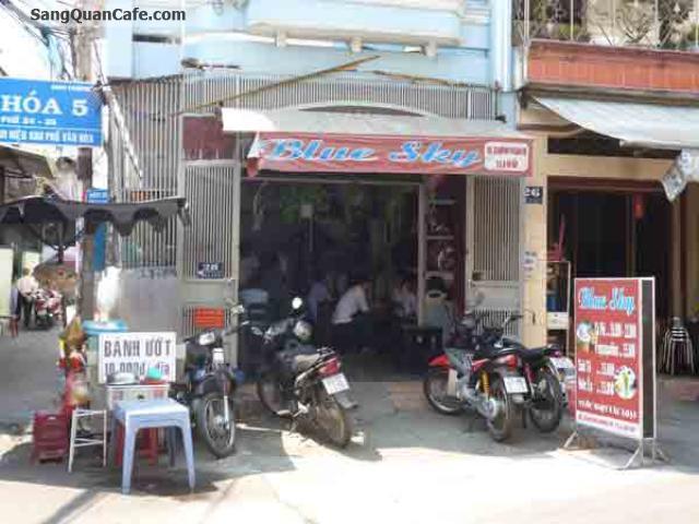 Cần sang quán cafe ghế gỗ gần chợ Gò Vấp