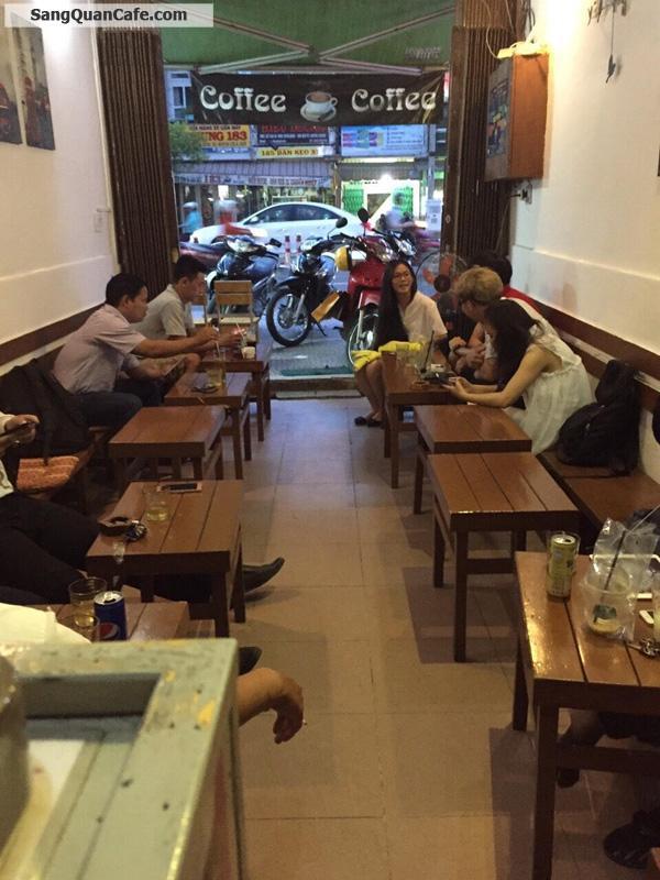 Cần sang quán cafe Ghế gỗ quận 4