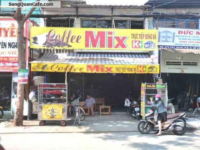 Cần sang quán cafe ghế gỗ quận Gò Vấp