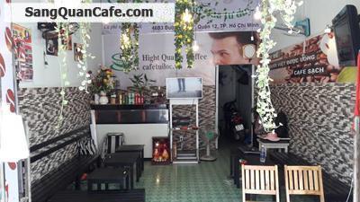 Cần sang quán cafe giá rẻ quận 12