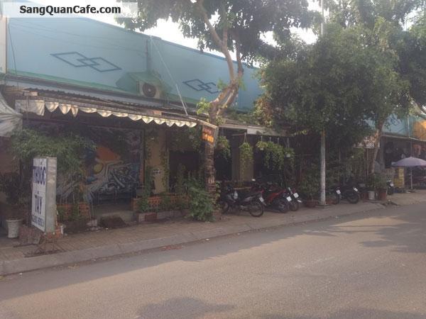Cần sang quán cafe mặt tiền đường nguyễn thị sóc