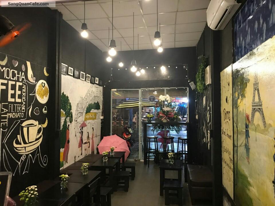Cần sang quan cafe mặt tiền đường Nguyễn Văn Luông