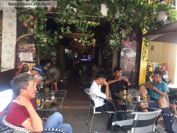 Cần sang quán cafe mặt tiền Phan Huy Ích