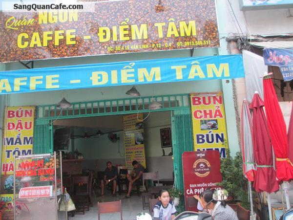 Cần Sang Quán Cafe Mặt Tiền quận 4
