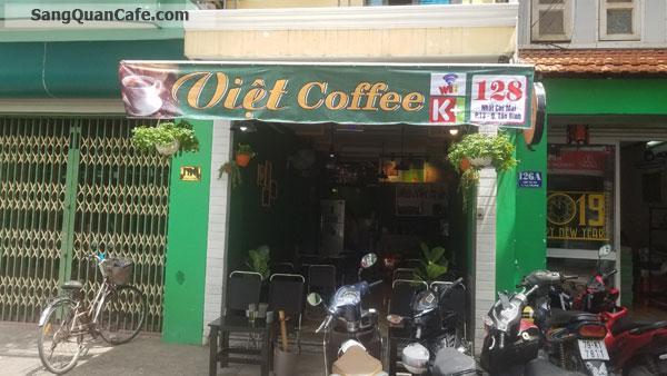 Cần sang quán cafe mặt tiền quận Tân Bình