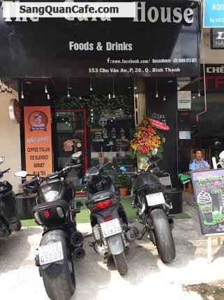 Cần sang quán cafe máy lạnh đường Chu Văn An