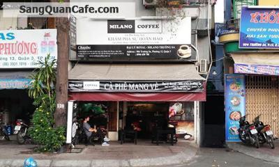 Cần sang quán cafe MiLaNo khu Bờ Kè Quận 3
