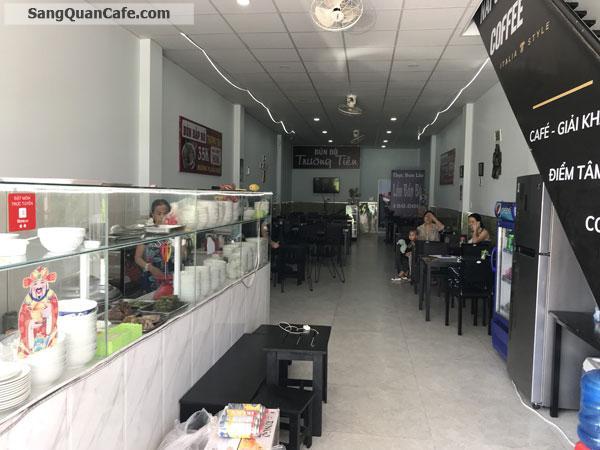 Cần sang quán cafe Napoli ( nhượng quyền) + quán bún bò
