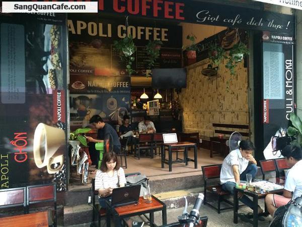 Cần sang quán cafe Napoli gấp quận 3