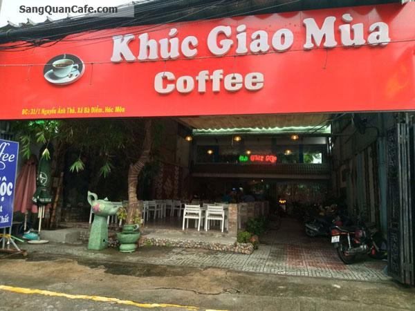 Cần sang quán cafe sân vườn 500m2
