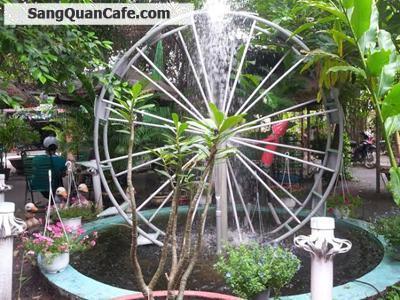 Cần sang quán cafe sân Vườn giá rẻ