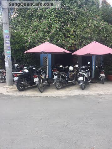 cần sang quán Cafe sân vườn quận Tân Phú
