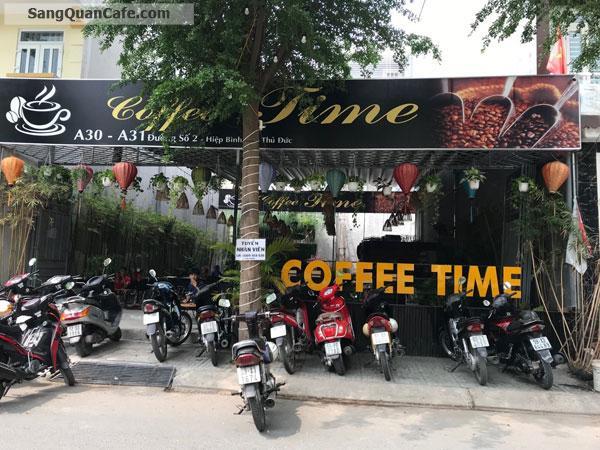 Cần Sang Quán Cafe Time Quận Thủ Đức