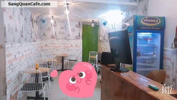 Cần Sang quán Cafe Trà Sữa 2 MT Đẹp.