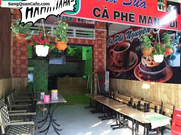 Cần sang quán cafe trà sữa diện tích 60 m2