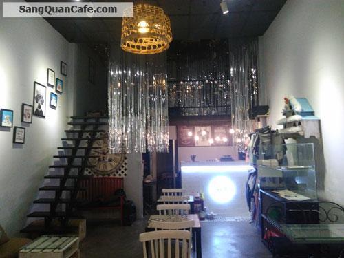 Sang quán cafe mặt tiền Hóc Môn