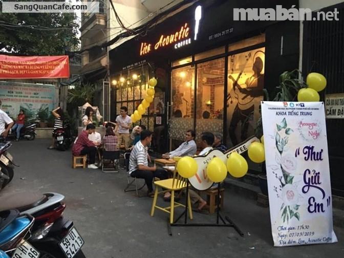 Chính chủ cần sang quán Cafe khu trung tâm Q.10