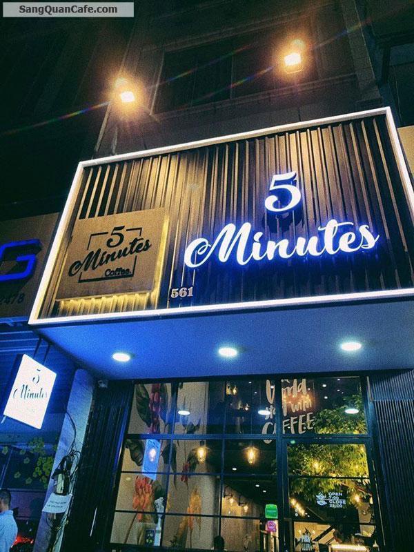 Chính chủ sang quán 5 Minutes Coffee đối diện trường HUFLIT