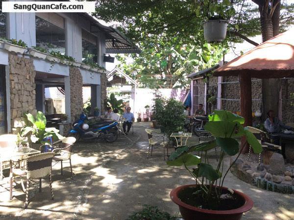 Sang quán cafe sân vườn máy lạnh 500m2 gần Chợ Thủ Đức