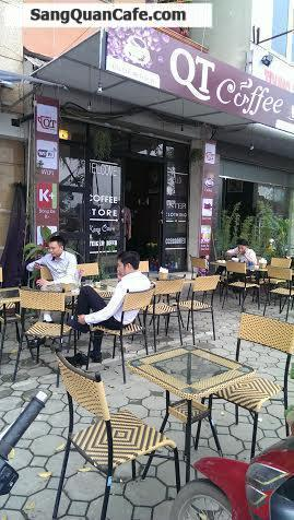 Chuyển nhượng or thanh lý tài sản quán Cafe - Cơm văn phòng . QT Coffee .