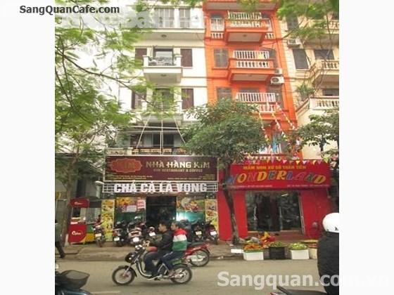 Chuyển nhượng nhà hàng Kim số 12 Tam Trinh, Hà Nội