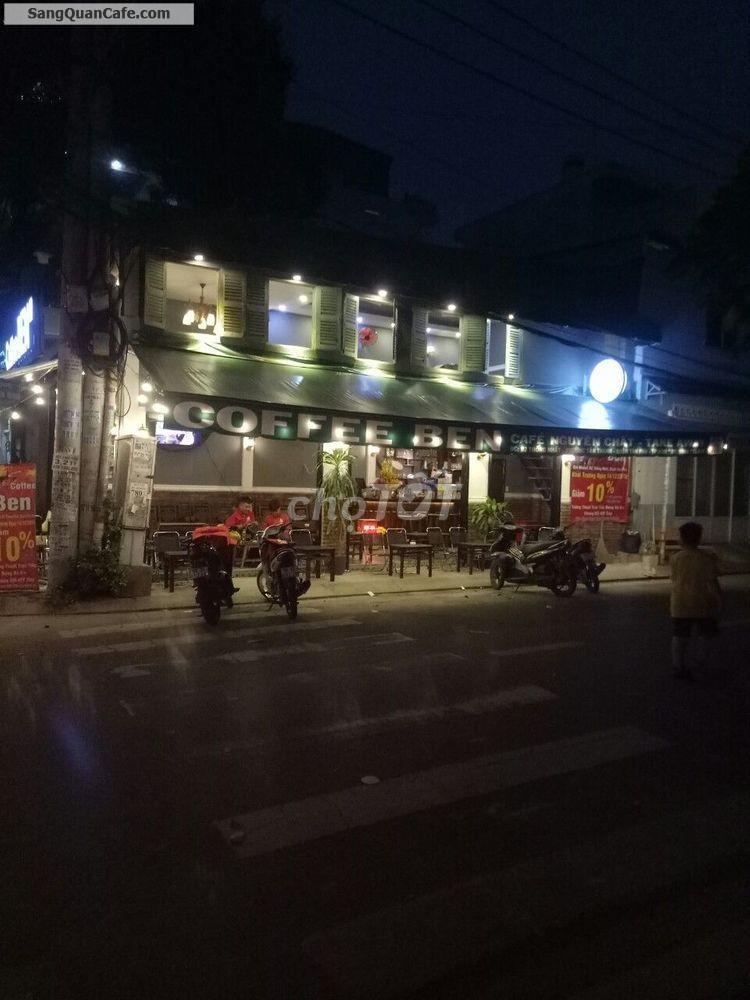 Sang quán cafe góc hai mặt tiền diện tích 4,5*11m