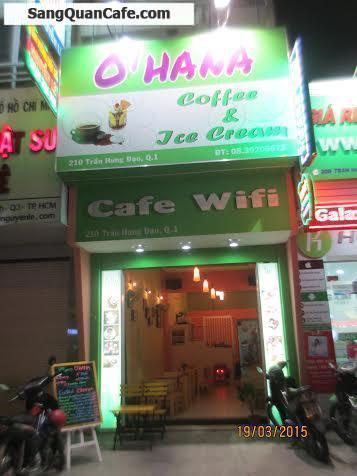 Quán cafe&kem Ohana 210 Trần Hưng Đạo, quận 1