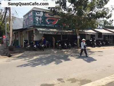 Sang gấp quán cafe 2 mặt tiền Quận 7