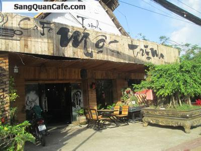 Sang  quán Cafec  mặt tiền đường quận 9