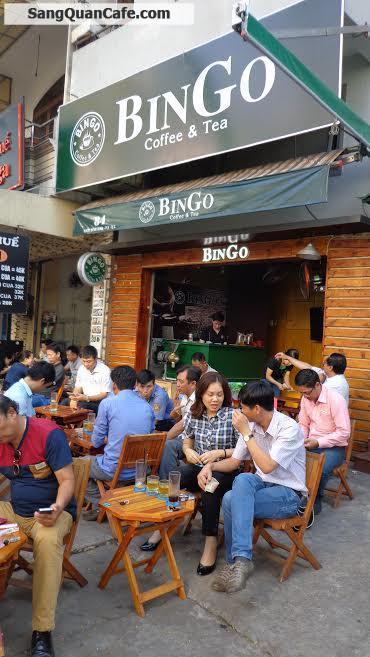 Sang Cafe Ghế Gỗ đường Rạch Bùng Binh