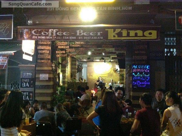 Sang Cafe Ghế Gỗ Giá Rẻ + Vỉa hè rộng khu Bàu Cát