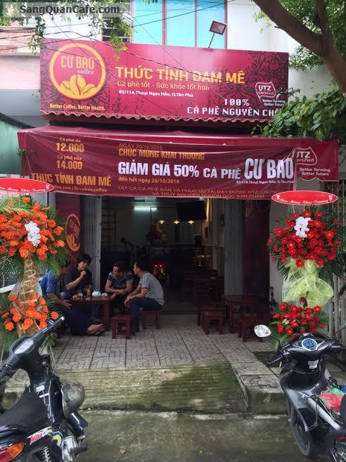 Sang Cafe Ghế Gỗ nhượng quyền thương hiệu Cư Bao