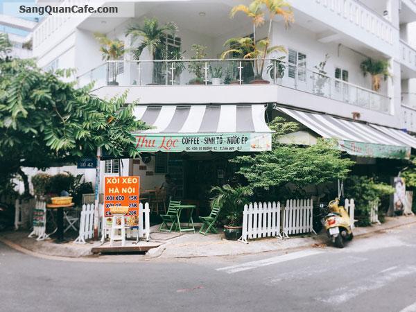 Sang Cafe Góc 2 mặt tiền quận 7