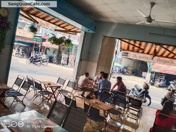 Sang Cafe Góc 2 MT ( 6m x 10m ) MB 10 tr