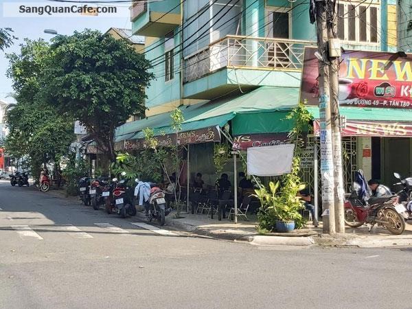 Sang Cafe Góc 2 MT (8m x 21m) 3 lầu giá thuê 6 tr,
