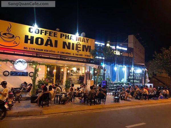 Sang Cafe Góc 2 MT Vỉa hè rộng 8 x 30m