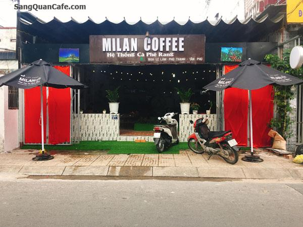 Sang Cafe mặt bằng Đẹp 8m x 20m
